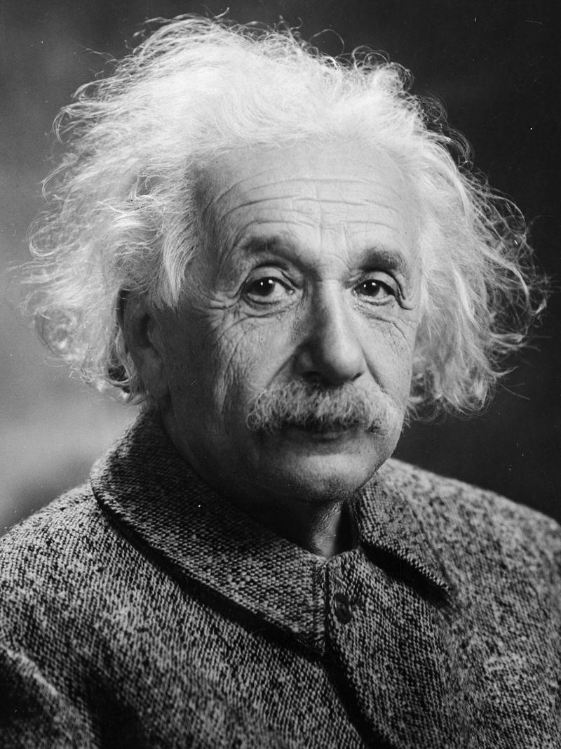 Albert Einstein nel 1947 (immagine di pubblico dominio)